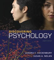 8th edition of Discovering Psychology by Hockenbury & Nolan